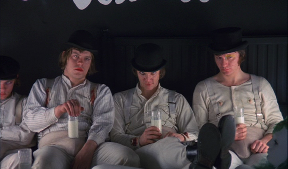 droogs with milk