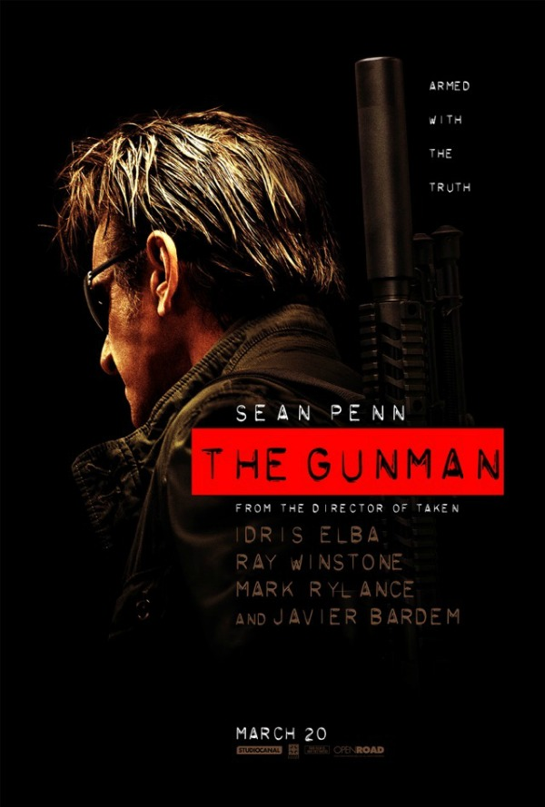 the gunman - poster