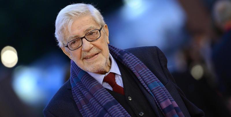 Ettore Scola al festival del cinema di Roma, 18 ottobre 2015 (ANSA/CLAUDIO ONORATI)
