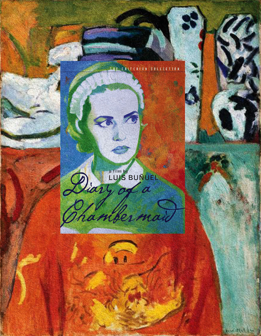 """""""Diary of a Chambermaid"""" Luis Buñuel """"The Girl with Green Eyes"""" Henri Matisse"""