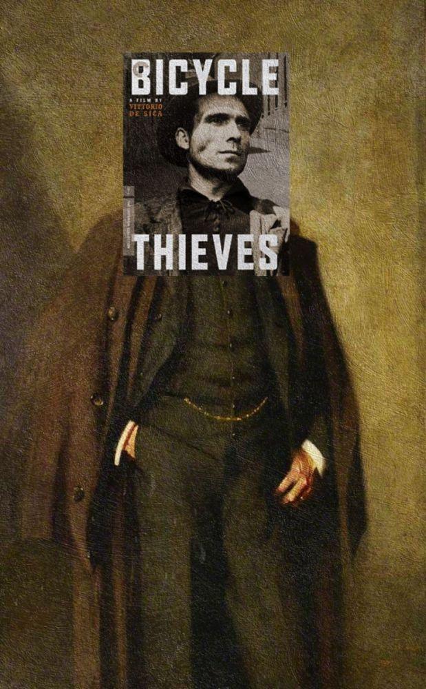 """Bicycle Thieves"" Vittorio De Sica ve ""John M. Denny"" George Henry"