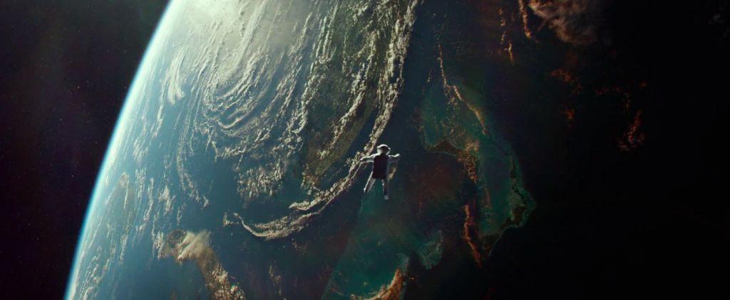 Bir Sahne: Gravity (2013)