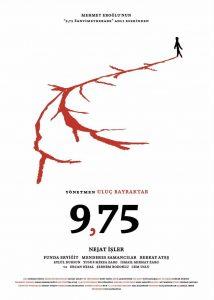 uluç bayraktar 9,75 filmi afiş poster